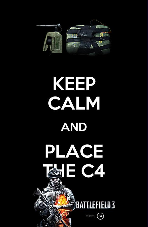 Keep Calm and Place the C4